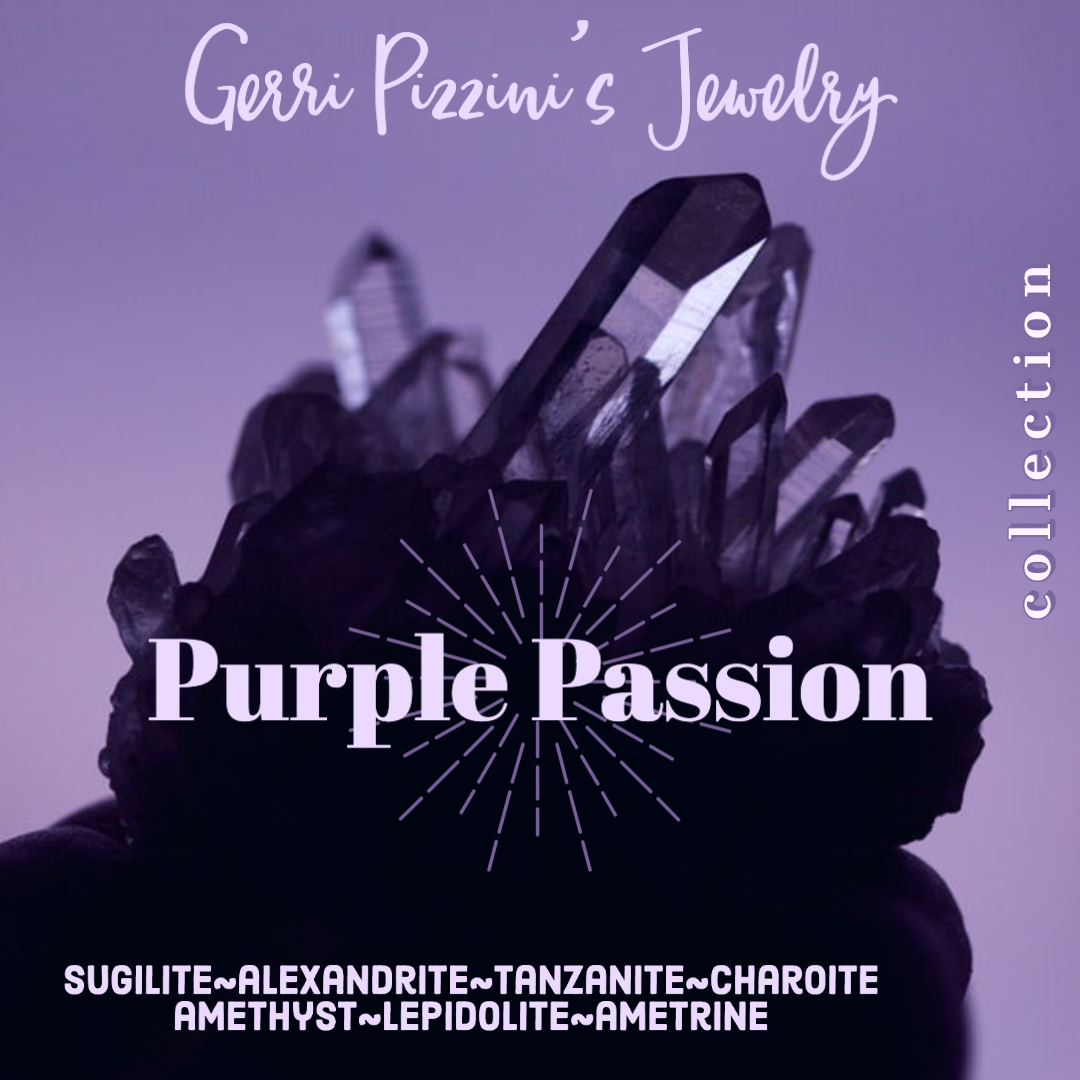 03 - Purple Passion Earrings