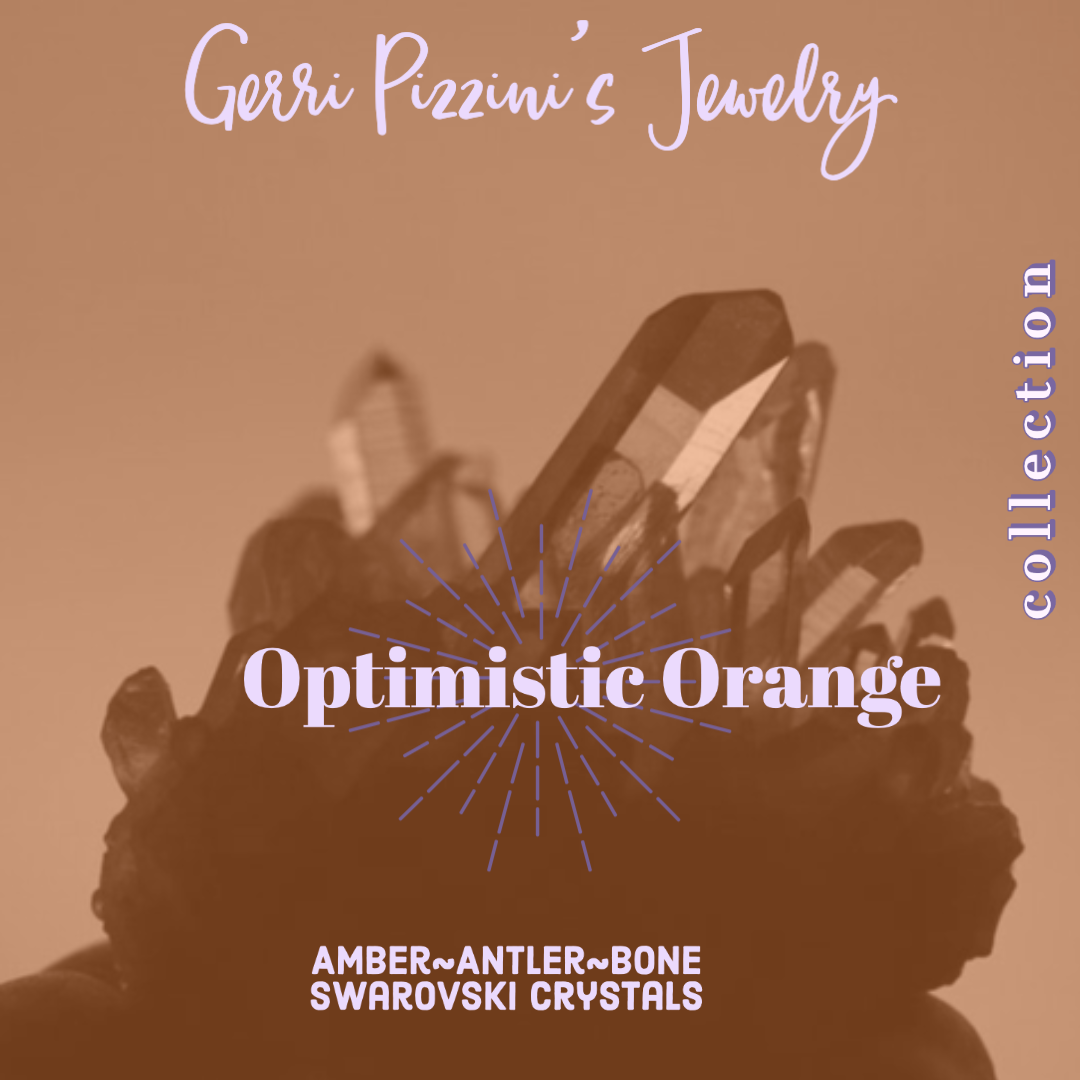 28 - The Optimistic Orange Collection Necklace