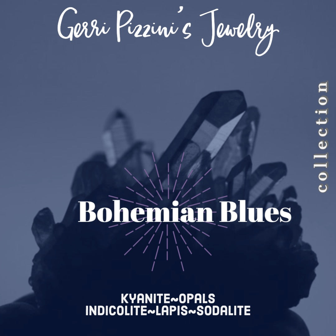 09 - The Bohemian Blue Collection Earrings