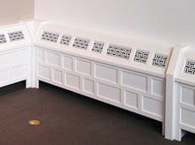 Load image into Gallery viewer, Basketweave Laser Cut Panels - Radiator Cover Application