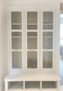 Honeycomb Laser Cut Panels - Cabinetry Application