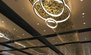 Branches Laser Cut Panels - Ceiling Application