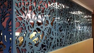 Branches Laser Cut Panels - Wall Partition