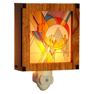 Frank Lloyd Wright Night Light - Frozen Spheres Color