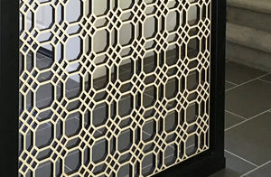 Chicago Grille Laser Cut Panel - Wall Partition