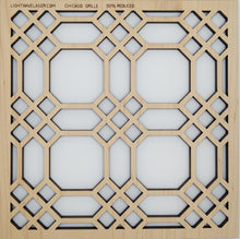 Load image into Gallery viewer, Lightwave Laser Chicago Grille Pattern Sample