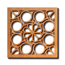 Load image into Gallery viewer, Flower Circles Trivet