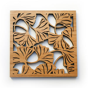 Ginkgo Leaves Trivet
