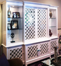 Load image into Gallery viewer, Japanese Circles Thick Laser Cut Panels - Cabinetry Application