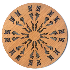 Frank Lloyd Wright Trivet - Hagan House
