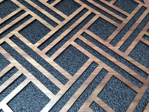 Open Basketweave Laser Cut Panels