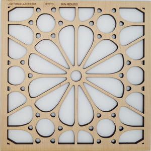 Lightwave Laser Kyoto Pattern Sample