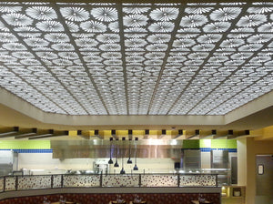 Daisies Laser Cut Panels - Ceiling Application