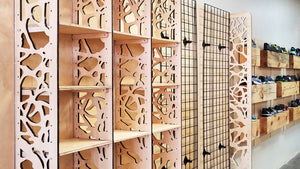 Branches Laser Cut Panels - Cabinetry Application