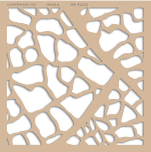 Lightwave Laser Magnolia Pattern Sample
