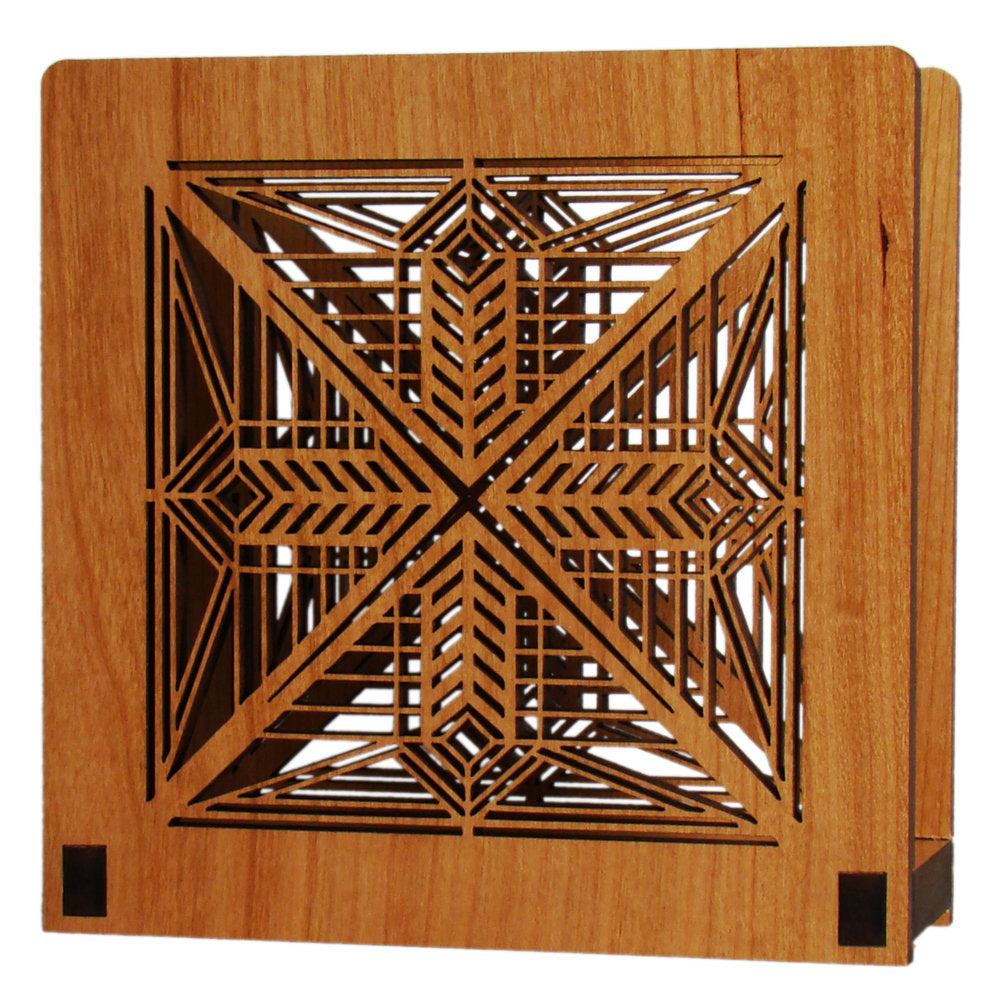 Frank Lloyd Wright Napkin Holder - Dana Entry Light