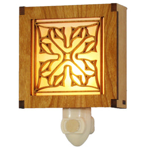 Frank Lloyd Wright Night Light - Luxfer Flower
