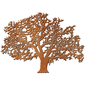 Oak Tree Wood Wall Art