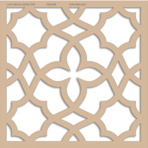 Lightwave Laser Tangier Pattern Sample