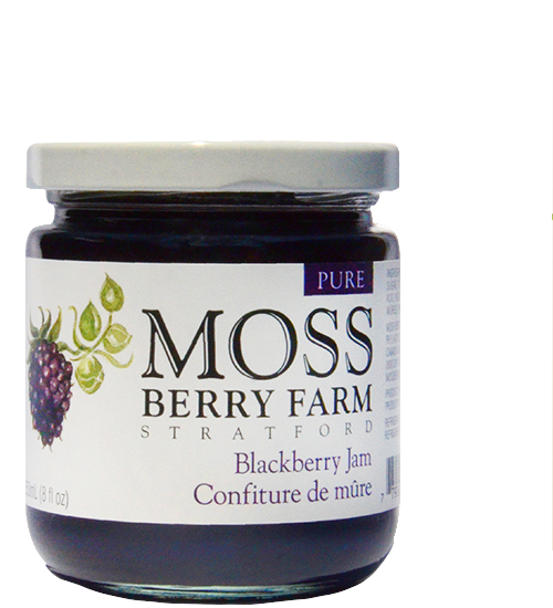 Moss Berry Farm Blackberry Jam