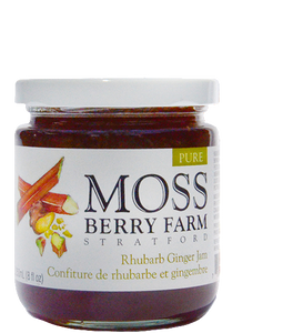 Moss Berry Farm Rhubarb Ginger Jam