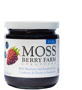 Moss Berry Farm Wild Blueberry Raspberry Jam