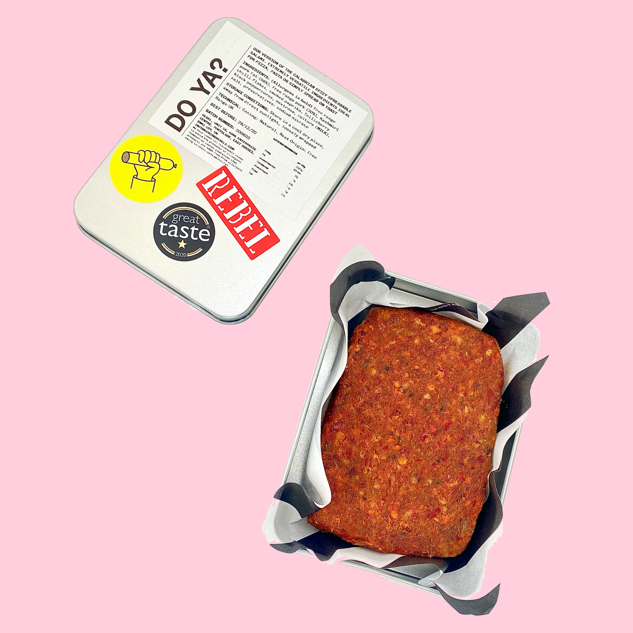 DO YA? (SPICY SPREADABLE SALAMI - NDUJA)