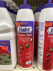 Eight Insect Control: Garden Dust 10 oz