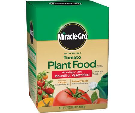 Miracle-Gro Water Soluble Tomato Plant Food (18-18-21)