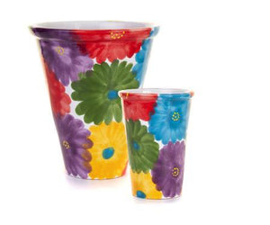 Sunshine Ceramica Multiflor Long Tom Pot Made in Spain