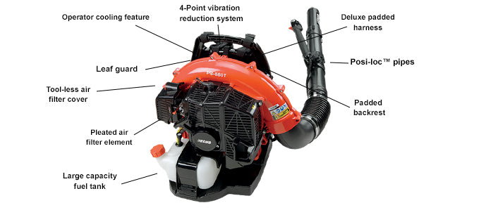 PB-580T Power Blower, Backpack