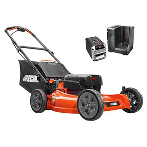 "ECHO CLM-58V  21"" Brushless Cordless Push Lawn Mower w/ 4Ah Battery and Charger"