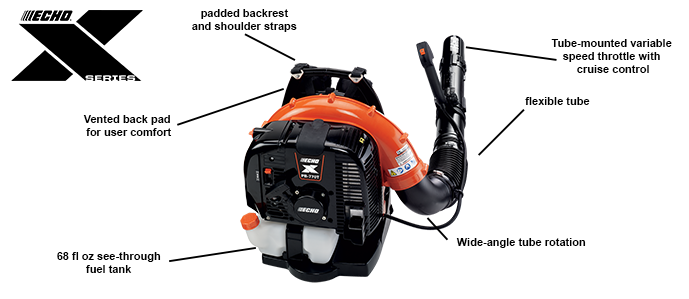 PB-770H/T Backpack Blower