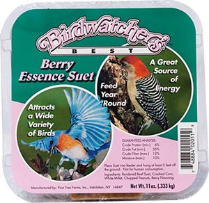Bird Watcher's Best Berry Essence Suet