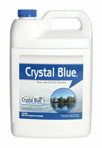 Crystal Blue Lake and Pond Colorant Gallon