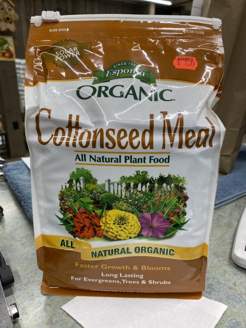 Espoma Organic Cottonseed Meal - All Natural Plant Food
