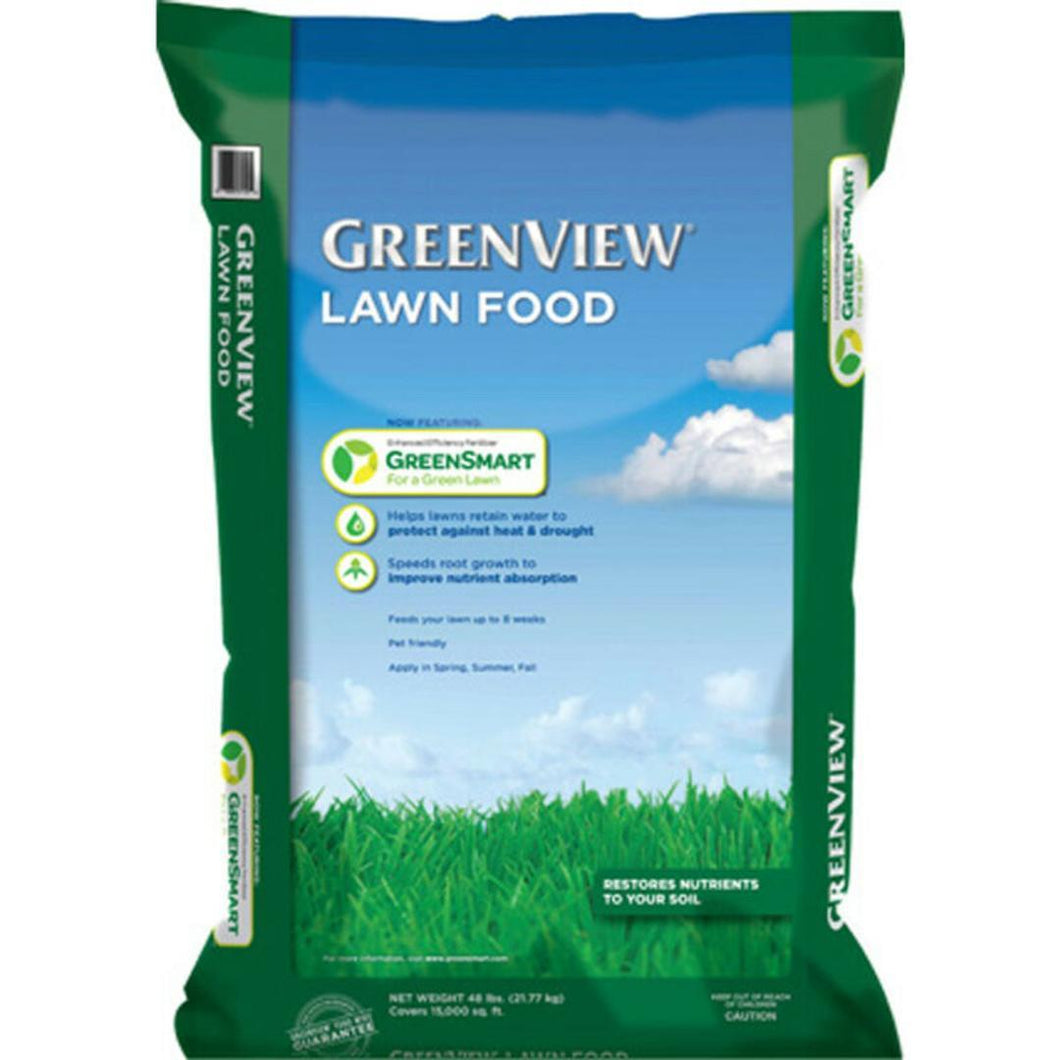 Greenview Lawn Food with Green Smart & Mesa 48lb