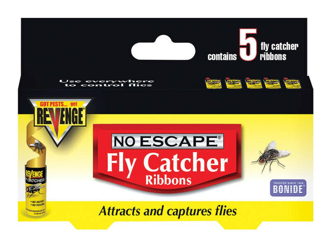 Bonide No Escape Fly Catcher Ribbons