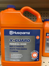 Load image into Gallery viewer, Husqvarna X-Guard Premium All-Season Bar and Chain Oil