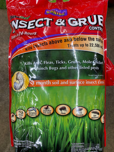 Insect and Grub Control