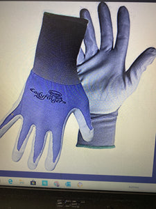 Ladyfinger Ladies Nitrile Palm Gloves