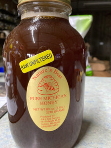 Local Raw Unfiltered Honey