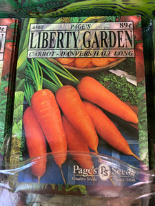 Liberty Garden Seed and Herb Packets