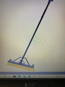 Power Grip Pro Multi-Surface Pushbroom