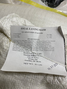 Ideal Laying Mash - 50 lbs