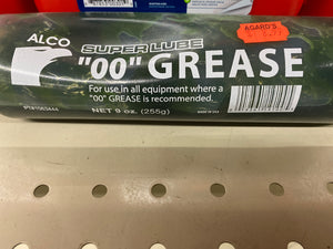 "Also Superlube ""00"" Grease"