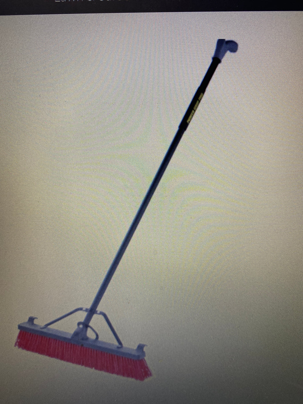 Power Grip Pro Rough Surface Pushbroom