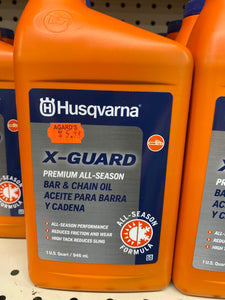 Husqvarna X-Guard Premium All-Season Bar and Chain Oil