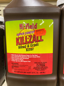 Hi-Yield Super Concentrate Weed & Grass Killer