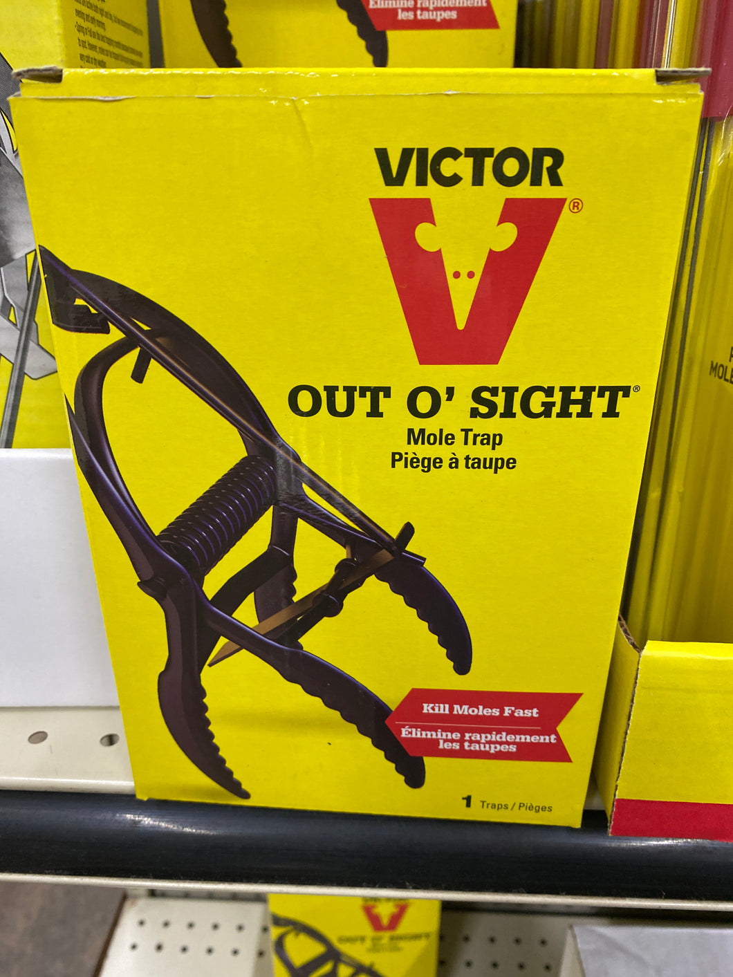 Victor Out O'Sight Mole Trap